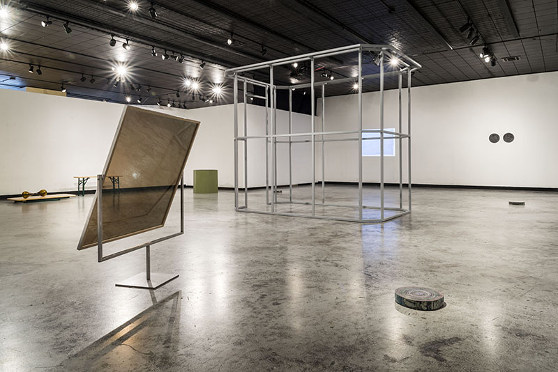 Between Here and There, installation view